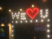 カフェ&バー カリフォルニアカフェ様 Sundaysマーキーライト製作事例